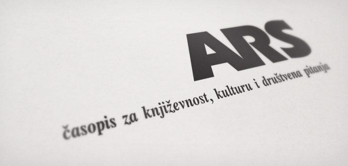 """BIBLIOGRAFIJA ČASOPISA """"ARS""""(1986-2016)"""